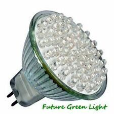 MR16 38 LED 12V 2.4W 92LM WHITE BULB ~30W