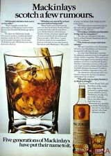 1979 'Mackinlay's' Old Scotch Whisky Advert - Original Print AD