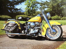 HARLEY DAVIDSON MOTORCYCLE PICTURE  PRINT 16X20