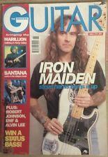 Guitar Magazine - Iron maiden - Marillion - Santana - July 1992