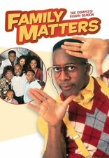 FAMILY MATTERS: THE COMPLETE SEASON 8 -  Region Free DVD -  Sealed