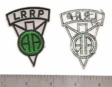 #M13 82ND AIRBORNE DIVISION LRRP PATCH
