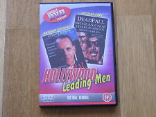 double dvd feature hollywood leading men ,the trial and deadfall action film 18r