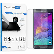 NEW PREMIUM REAL TEMPERED GLASS FILM SCREEN PROTECTOR FOR SAMSUNG GALAXY NOTE 4