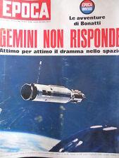 EPOCA n°809 1966 Dramma nello spazio GEMINI - Nuova monoposto FERRARI [C80]