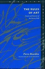 The Rules of Art: Genesis and Structure of the Literary Field (Meridian: Crossi