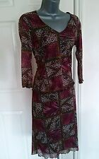 BLOUSE SKIRT SUIT SMALL MEDIUM VINTAGE OCCASION STRECHY NEW PATCHWORK QUIRKY