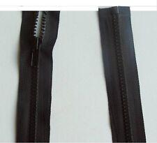 Reißverschluss 30cm bis 140cm Teilbar für Jacke Kunststoff Delrin