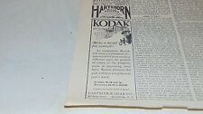 1914 Original EASTMAN KODAK CO AND FELS NAPTHA AND OTHER ADVERTISING