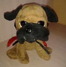 The petting Zoo Pug Puppy Dog  7 inches tall Plush