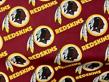 """WASHINGTON REDSKINS  NFL 60"""" Cotton Fabric BTY Fabric Traditions"""
