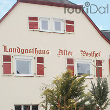 Hunsrück 3 Tage Kurzurlaub Halsenbach-Ehr Hotel Alter Posthof Reise-Gutschein
