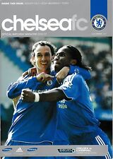 Football Programme CHELSEA v LIVERPOOL Sept 2006