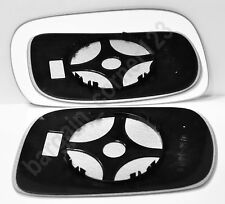 Left Side Wing Mirror Glass CONVEX+Backing Plate Vauxhall Agila 2000-2007