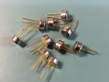 LOT OF (10)  NEW MOTOROLA MRF227 3W-225MHZ RF POWER TRANSISTOR NPN SILICON TO-39