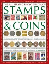 THE ILLUSTRATED ENCYCLOPEDIA OF STAMPS & COIN - JAMES MACKAY DR. (PAPERBACK) NEW
