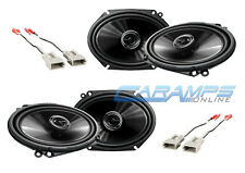 NEW PIONEER 2-WAY CAR/TRUCK STEREO FRONT AND REAR SPEAKERS W SPEAKER WIRING