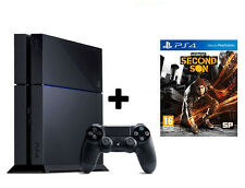 SONY PLAYSTATION 4 PS4 500GB JET+FREE GAME+ ModelCUH 1208+ 1Yr SONY Ind Warra