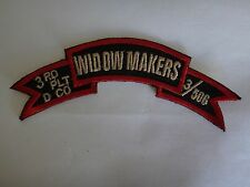 3rd Platoon D Company 3/506 Infantry Regiment WIDOW MAKERS Vietnam War Patch