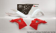 Kit plastiques Racetech couleur origine rouge Gas Gas EC 125 250 300 2011