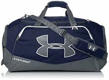 Under Armour Duffle Bag Navy Blue Storm Undeniable II Large Gym Bag 5000 cu. NEW