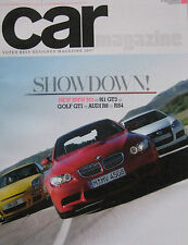 CAR 09/2007 featuring BMW M3, Porsche 911 GT3, VW Golf, Audi R8, RS4, Maserati