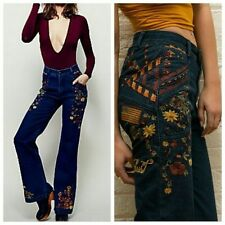 Spell and The Gypsy Collective Wanderlust Jeans Free People Love Child Flares sm