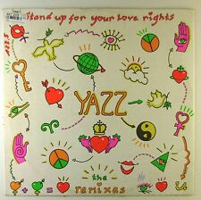 "12"" Maxi - Yazz - Stand Up For Your (The Remixes) - A2526 - Orange Vinyl"