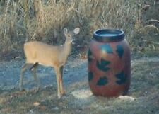 Aunt Molly's Gravity Deer Feeder, Also Turkey and Hog Feeders, leaf pattern