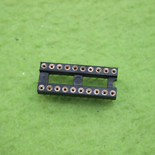 50pcs 20Pin DIP Round IC Sockets Adaptor Solder Type gold plated machined L8