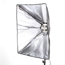 50x70cm Studio Light Photography Softbox F 4 E27 Lamp Bulb Head Tageslichtlampe