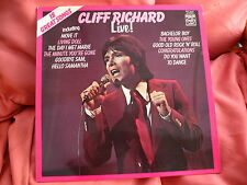 "CLIFF RICHARD - LIVE - 12"" LP - EMI MFP 50307"