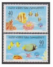 TURKISH REPUBLIC OF NORTHERN CYPRUS 1998, WORLD ENVIRONMENT DAY, FISH, MNH
