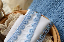 Blue lace trim/ribbon  - price for 1 yard