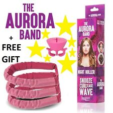 The AURORA BAND Sleep In Night Roller, as seen on Dragons Den, Natural Curls