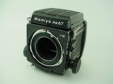 MAMIYA RB67 PRO S Medium Format Camera Body & WLF