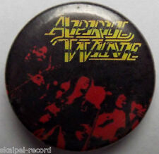 APRIL WINE Logo Vtg 1980`s 25mm Button Pin Badge AW.105