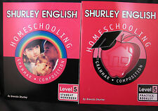 Shurley English: Homeschooling Made Easy -- Level 5, Grammar & Composition.