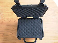 1 Durable Weatherproof Camera Pelican type case P 1200 style with Foam set