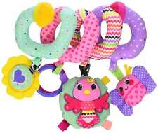 Baby Spiral Activity Toy Play Fun Hanging Cute Crib Car Seat Stroller Develop