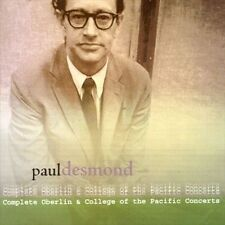 """New 2xCD Paul Desmond """"Complete Oberlin + College/Pacific Concerts"""" free US ship"""