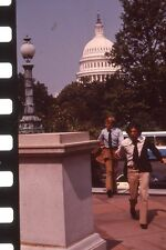 DUSTIN HOFFMANN ROBERT REDFORD ALL THE PRESIDENT'S MEN 1976 PRESS SLIDE #3