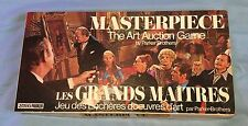 Vintage 1970 Board Game - Masterpiece - The Art Auction Game - 100% Complete