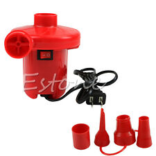 AC Electric Air Pump Inflate Deflate Toys Air Bed Compression Bag Mattress LO