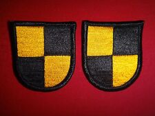 Set Of 2 Beret Patches: US Military SROTC RANGER Flashes