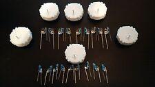 (6) GM stepper motor w/18 blue LED Cluster & AC Module Steering Wheel Hummer GM