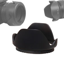 62mm Reversible Petal Flower Lens Hood For Nikon Canon Olympus DSLR Camera