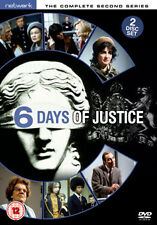 SIX DAYS OF JUSTICE - THE COMPLETE SECOND SERIES - DVD - REGION 2 UK