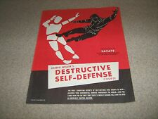 Joe Weider Bodybuilding Destructive Self Defense Course Lesson #8 Savate