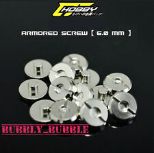12PCS Metal Armor Detail-up Φ6mm Screw Parts For HG PG MG 1/100 1/60 Gundam USA